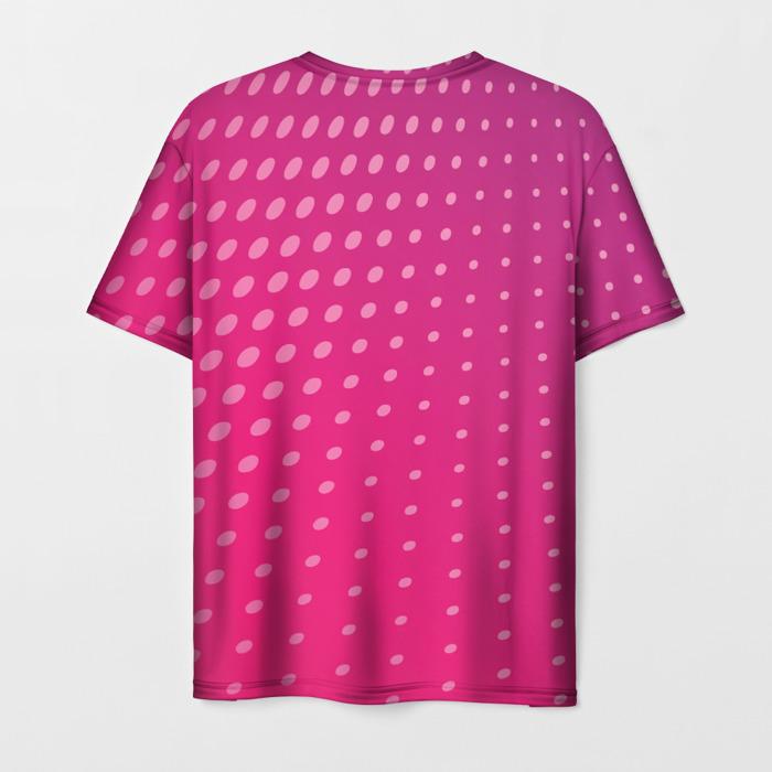 Merchandise Men'S T-Shirt Pink Apparel Design Plants Vs Zombies