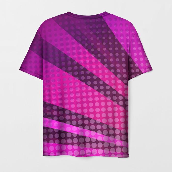 Collectibles Men'S T-Shirt Pink Design Print Plants Vs Zombies