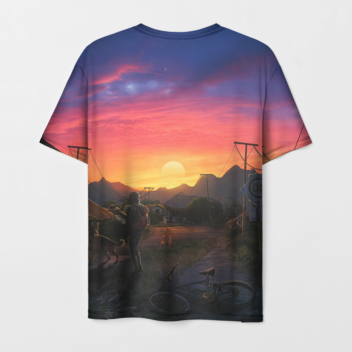Collectibles Men'S T-Shirt Picture Design The Last Of Us Print