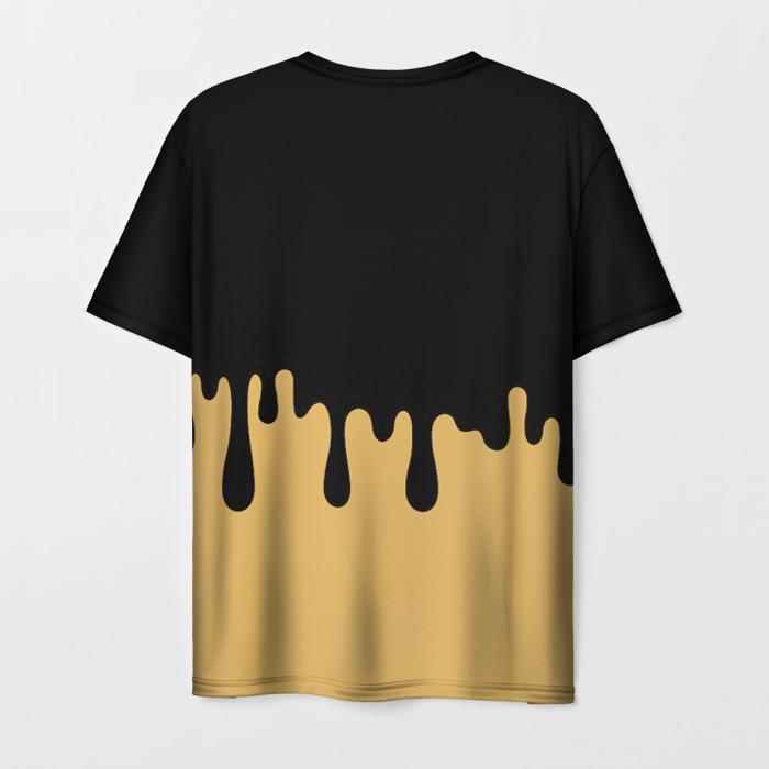 Merch Men'S T-Shirt Merch Title Bendy And The Ink Machine