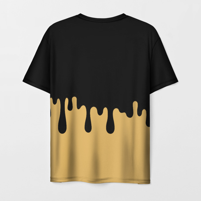 Collectibles Men'S T-Shirt Print Black Merch Bendy And The Ink Machine