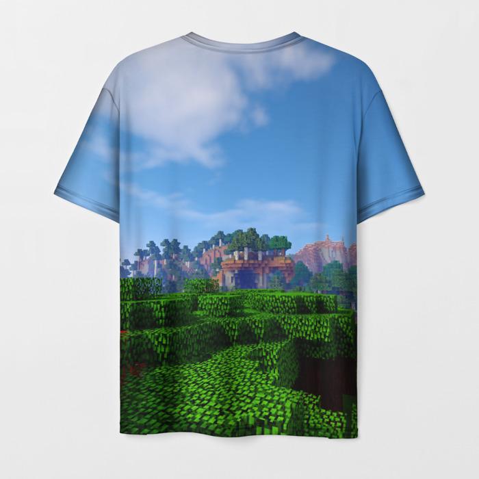 Collectibles Men'S T-Shirt Print Dungeons Minecraft Design