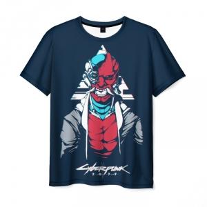 Collectibles Men'S T-Shirt Cyberpunk 2077 Samurai Design Merch