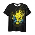 Collectibles Men'S T-Shirt Samurai Keanu Reeves Cyberpunk
