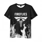 Merchandise Men'S T-Shirt The Last Of Us Title Black Print