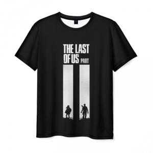 Collectibles Men'S T-Shirt The Last Of Us Design Label Black