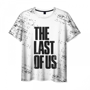 Collectibles Men'S T-Shirt The Last Of Us White Text Merch