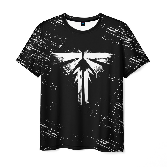 Collectibles Men'S T-Shirt The Last Of Us Sign Black Print