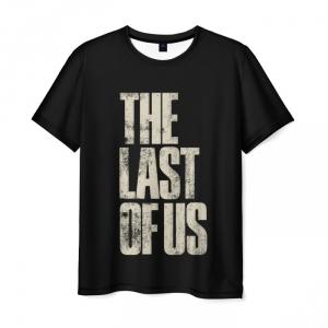 Collectibles Men'S T-Shirt The Last Of Us Design Black Label