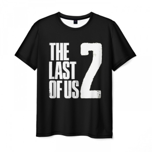 Collectibles Men'S T-Shirt The Last Of Us Black Apparel Print