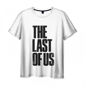Collectibles Men'S T-Shirt The Last Of Us White Print Text