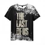 Merch Men'S T-Shirt The Last Of Us Text Print Design