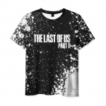 Collectibles Last Of Us T-Shirt Black Text Label