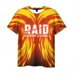 Collectibles Men'S T-Shirt Raid: Shadow Legends Orange Print