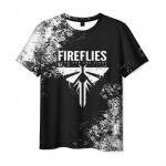 Merch Men'S T-Shirt The Last Of Us Text Print