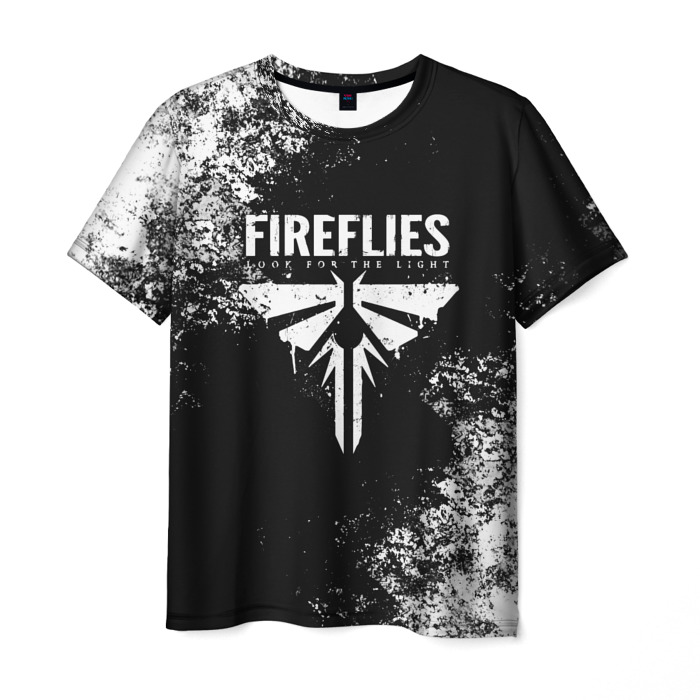 Collectibles Men'S T-Shirt The Last Of Us Text Print