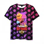 Merchandise Men'S T-Shirt Brawl Stars - Sandy Pattern