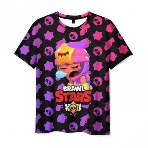 Collectibles Men'S T-Shirt Brawl Stars - Sandy Pattern