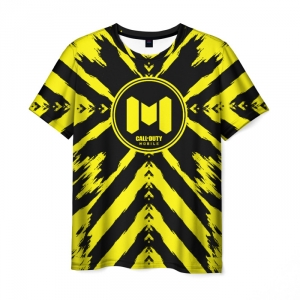 Collectibles Men'S T-Shirt Print Mobile Call Of Duty Lable