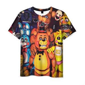 Merch Five Nights At Freddysmen T-Shirt Animatronics
