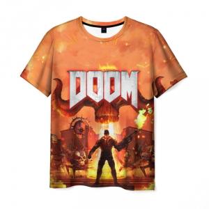 Collectibles Doom Classic Men T-Shirt Demons