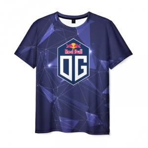 Merchandise Dota 2 Team Og Men T-Shirt Space Geometry