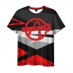 Collectibles - Men T-Shirt Borderlands Intersection Grey