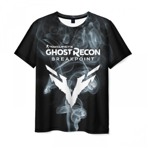 Merchandise Men T-Shirt Ghost Recon Breakpoint Wolves Black