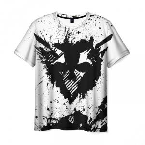 Merchandise Men T-Shirt Ghost Recon Breakpoint Splash White