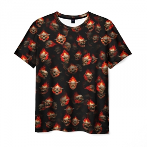 Collectibles Doom Classic Men T-Shirt Lost Souls