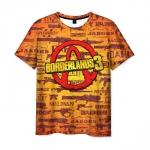 Merch Borderlands Men T-Shirt Weapons Logo