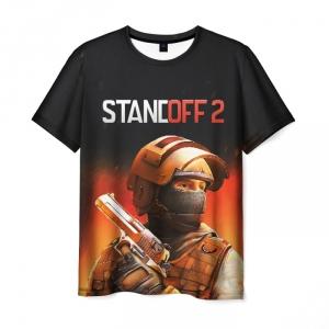 Merch Standoff 2 Special Forces Men T-Shirt Fire Black
