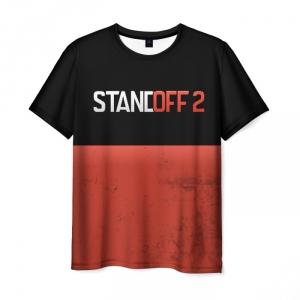 Merch Men T-Shirt Standoff 2 Brown Horizon