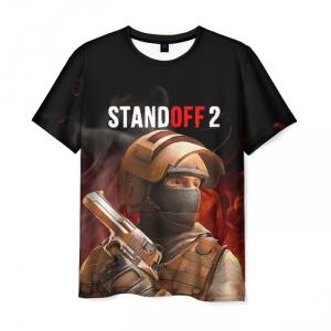 Merch Standoff 2 Counter-Terrorist Men T-Shirt Fire