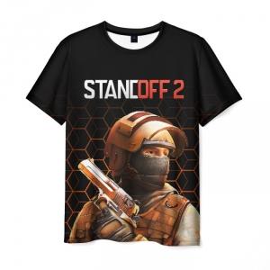 Merch Men T-Shirt Standoff 2 Counter-Terrorist Black