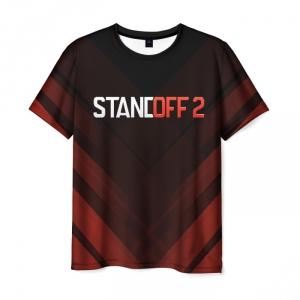 Merch Standoff 2 Men T-Shirt Dark Red