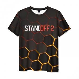 Merch Men T-Shirt Standoff 2 Hot Carbon
