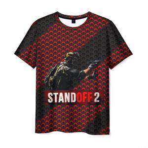 Merch Standoff 2 Hexagon Mesh Men T-Shirt Soldier