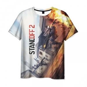 Merch Men T-Shirt Standoff 2 Explosion
