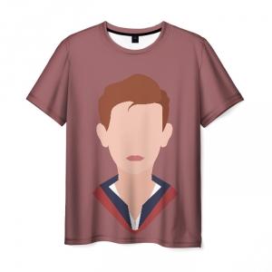 Collectibles Life Is Strange Men T-Shirt Nathan Prescott Minimalism
