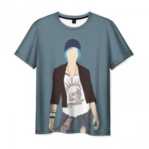 Collectibles Life Is Strange Men T-Shirt Chloe Minimalism