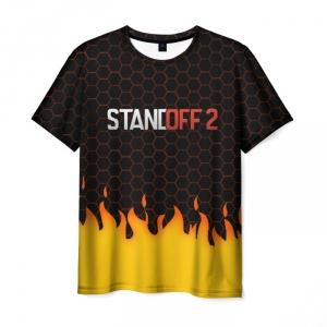Merch Standoff 2 Fire Hexes Men T-Shirt Black