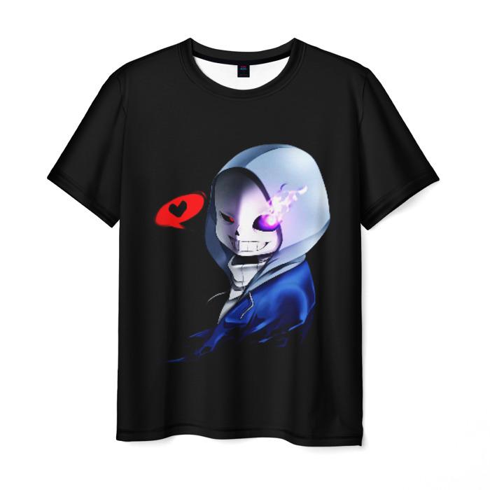 Merchandise Undertale Men T-Shirt Cute Sans Black