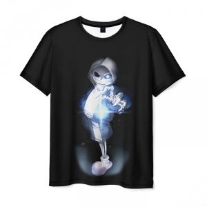 Merchandise Undertale Men T-Shirt Sans Skeleton Pixel Art