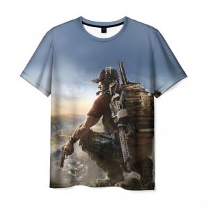 Merchandise Men T-Shirt Tom Clancy'S Ghost Recon Wildlands