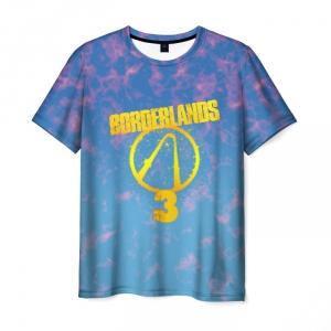 Merch Men T-Shirt Borderlands Fiery Sky