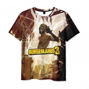 Merch Men T-Shirt Borderlands Psycho Style