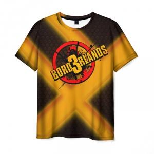 Merch Men T-Shirt Borderlands Honey Texture