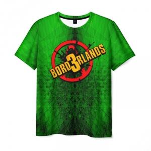Merch Men T-Shirt Borderlands Toxic Texture