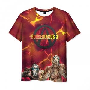 Merch Men T-Shirt Borderlands Thunderstorm